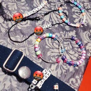 Naughty Jewelry- Curse Words Bad Girl- Custom Made